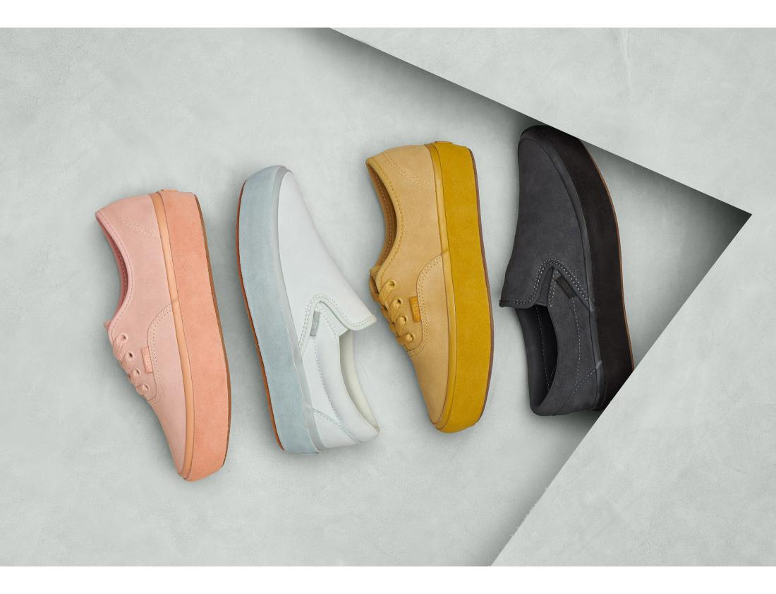 The Vans Suede Outsole Pack Arrives This Month